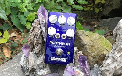 The Pantheon and associated pedals…