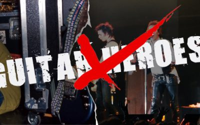 Do we need the next guitar hero? No – we need the next guitar anti hero