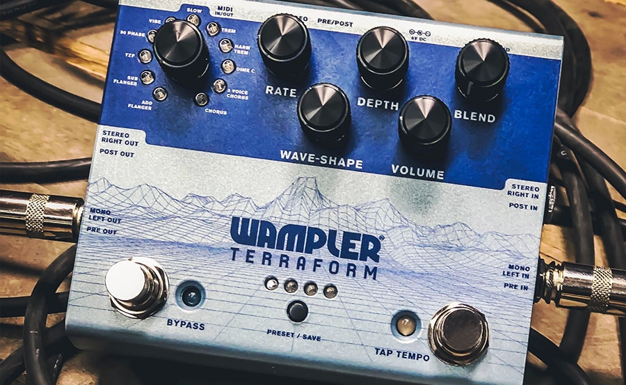 NAMM 2019 – The Terraform; and asking… what effects do you want in there?