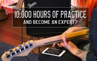 10,000 hours of practice to become an expert?