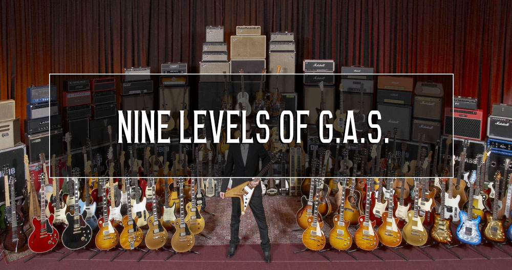 The 9 levels of G.A.S.