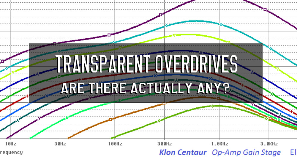 Transparent Overdrives, are there actually any?