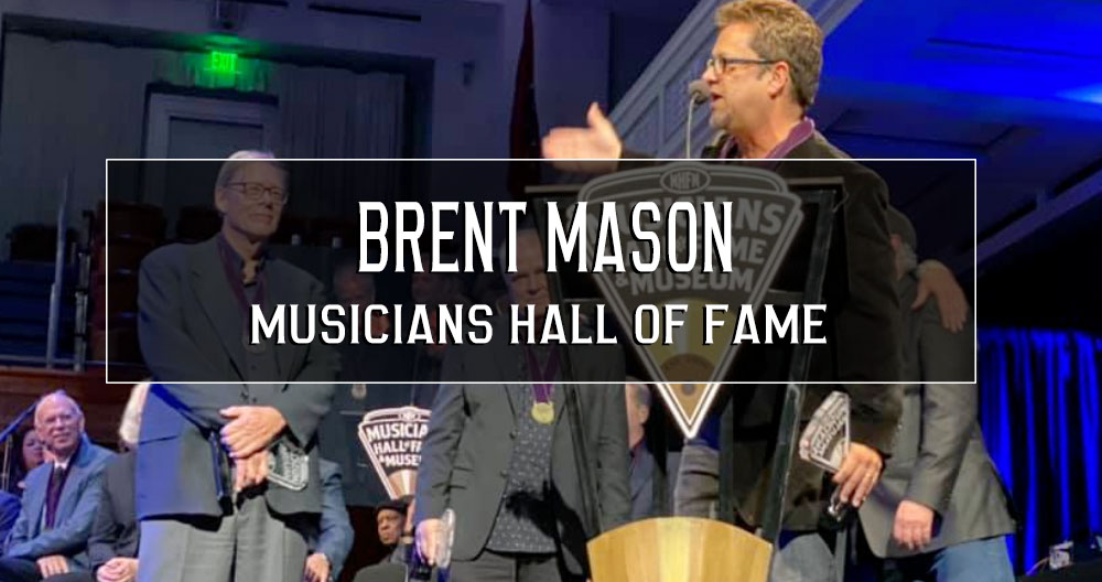 Brent Mason – Musicians Hall of Fame