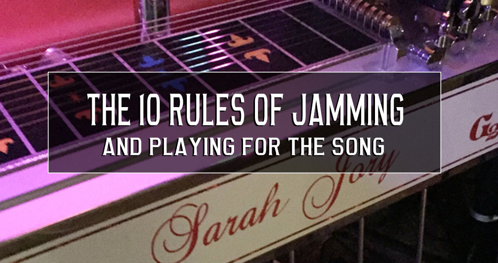 10 rules of jamming!