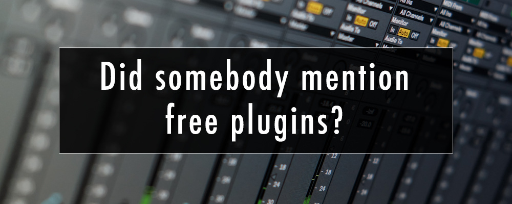 Did somebody mention free plugins ?